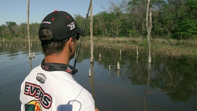 Hunting the fish on The Bass Pros