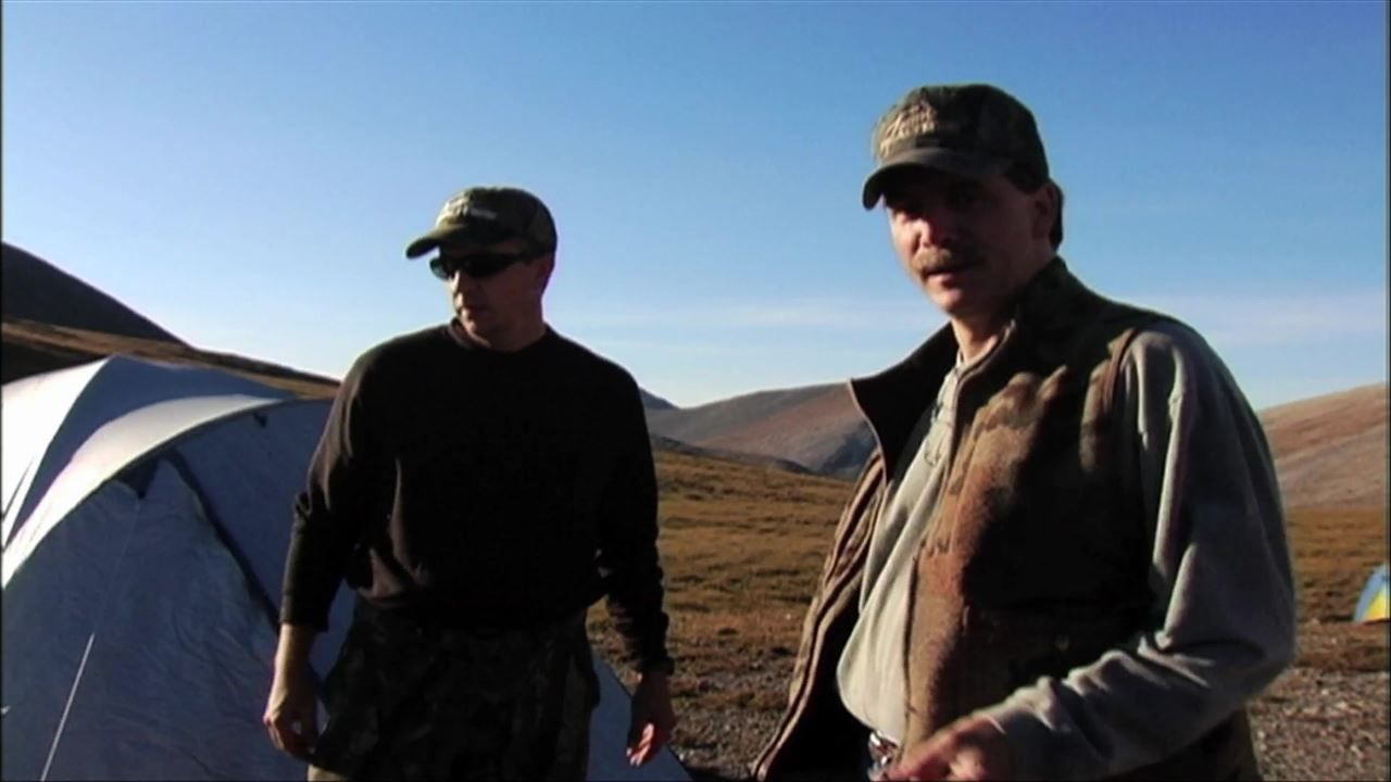 Comedian Jeff Foxworthy hunts Dall Sheep with David Blanton