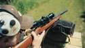 Ted Nugent loves the Ruger 10-22, no hearing protection required.  Here's